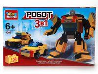 """Конструктор """"Роботы. Робот + машины"""" (150 деталей)"""