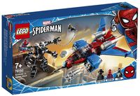 "LEGO Super Heroes ""Реактивный самолёт Человека-Паука против Робота Венома"""