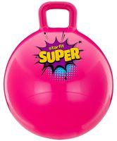 """Мяч-попрыгун """"GB-0401 SUPER"""" 45 см (с ручкой; розовый)"""