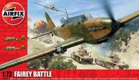 """Бомбардировщик """"Fairey Battle"""" (масштаб: 1/72)"""