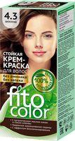 """Крем-краска для волос """"FitoСolor"""" (тон: 4.3, шоколад)"""