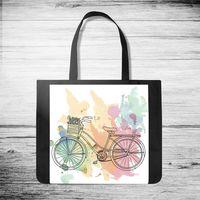 "Сумка-шоппер ""Велосипед"" (арт. 43)"