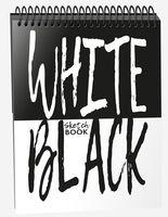 """Скетчбук """"White Black"""" (А5)"""