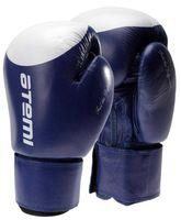 Перчатки боксёрские LTB19009 (12 унций; сине-белые/мишень)