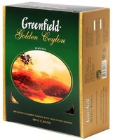 "Чай черный ""Greenfield. Golden Ceylon"" (100 пакетиков)"