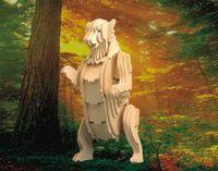 """Сборная деревянная модель """"Медведь гризли"""""""