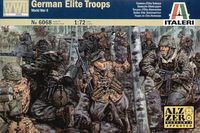 "Набор миниатюр ""German elite troops"" (масштаб: 1/72)"