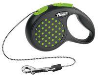 """Поводок-рулетка для собак """"Design"""" (зеленый, размер XS, до 8 кг/3 м)"""