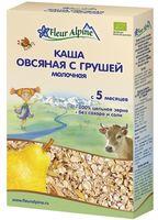 """Детская каша Fleur Alpine Organic """"Молочная овсяная с грушей"""" (200 г)"""