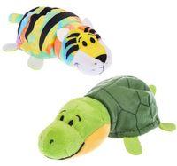 """Мягкая игрушка """"Вывернушка. Тигр-черепаха"""" (12 см)"""