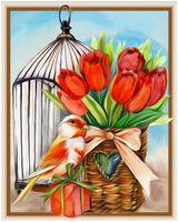 """Алмазная вышивка-мозаика """"Подарок весны"""""""