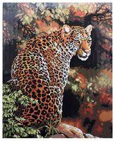 "Алмазная вышивка-мозаика ""Леопард"" (400x500 мм)"