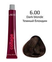 """Крем-краска для волос """"Collage Creme Hair Color"""" (тон: 6/00, темный блондин)"""