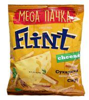 """Сухарики пшенично-ржаные """"Flint"""" (110 г; сыр)"""