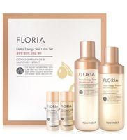 """Подарочный набор """"Floria Nutra Energy Set"""" (2 тонера, 2 эмульсии для лица)"""