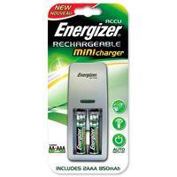 Аккумулятор + зарядное устройство Energizer Mini Plug + 2 AAA 850 mAh