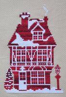 """Вышивка крестом """"Имбирный дом"""""""