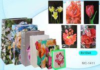 """Пакет бумажный подарочный """"Цветы"""" (в ассортименте; 8x10x4 см; арт. МС-1411)"""