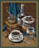 """Картина по номерам """"Кофейный набор"""" (400х500 мм)"""