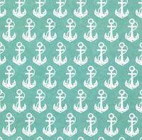"""Бумага для скрапбукинга """"Морская тема"""" (15х15 см; 5 листов; арт. 124863)"""