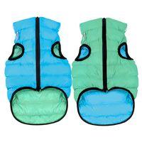 "Куртка ""Lumi"" (50 см; салатово-голубая)"