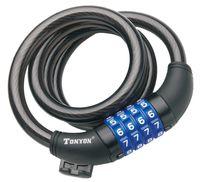 """Велозамок кодовый """"TY5231"""" (120 см)"""