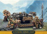 """Миниатюра """"Warhammer FB. Finecast: Dwarfs Bolt Thrower"""" (84-42)"""