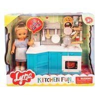 "Игровой набор ""Кукла Сати на кухне"""