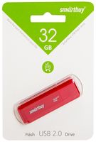 USB Flash Drive 32Gb SmartBuy Dock (Red) (SB32GBDK-R)