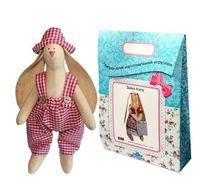 """Подарочный набор для шитья из ткани """"Кукла. Зайка Тимошка"""""""