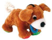 """Игрушка для собаки с пищалкой """"Dog"""" (17 см)"""