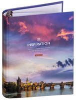 """Тетрадь со сменным блоком """"Путешествия. Sky Landscape"""" (120 листов)"""