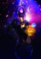 """Магнит на холодильник """"Mass Effect. Tali Zorah"""""""