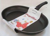 Сковорода алюминиевая антипригарная (34 см; черная)