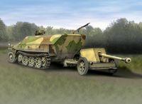 """Набор миниатюр """"Sd.Kfz.251/1 Ausf.D & 7.5cm PaK 40"""" (масштаб: 1/72)"""