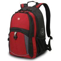 Рюкзак WENGER (22 литра, черный/красный)