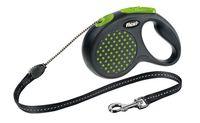 """Поводок-рулетка для собак """"Design"""" (зеленый, размер M, до 20 кг/5 м)"""