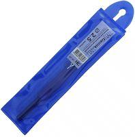 Крючок для вязания с пластиковым колпачком (металл; 2,5 мм)