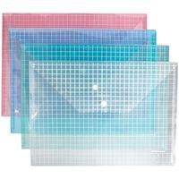 """Папка-конверт """"Envelope Folder"""" (А4; прозрачная; в ассортименте; арт. 2931)"""