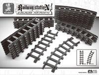 """Конструктор """"Железнодорожный вокзал. Рельсы"""" (24 детали)"""