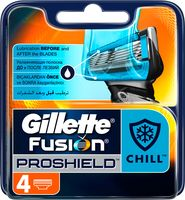"Кассета для станка ""Fusion ProShield Chill"" (4 шт.)"