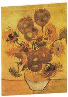 """Блокнот """"Ван Гог. Подсолнухи"""" (А5)"""