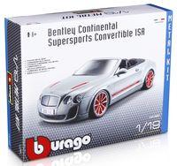 "Модель машины ""Bburago. Kit. Bentley Continental"" (масштаб: 1/18)"