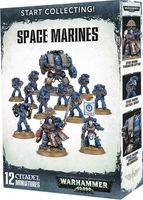 Warhammer 40.000. Space Marines. Start Collecting (70-48)