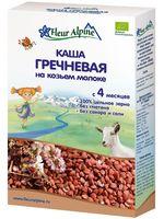 """Детская каша Fleur Alpine Organic """"Гречневая на козьем молоке"""" (200 г)"""