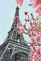 """Алмазная вышивка-мозаика """"Символ Парижа"""" (200х300 мм)"""