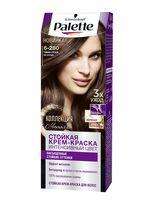 """Крем-краска для волос """"Интенсивный цвет"""" тон: 6-280, темный русый металлик"""
