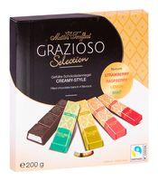 """Набор шоколада """"Grazioso. Cremy-Style"""" (200 г)"""