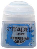 """Краска акриловая """"Citadel Layer"""" (fenrisian grey; 12 мл)"""