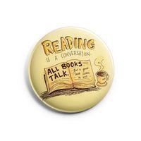 "Значок маленький ""Reading"" (арт. 792)"
